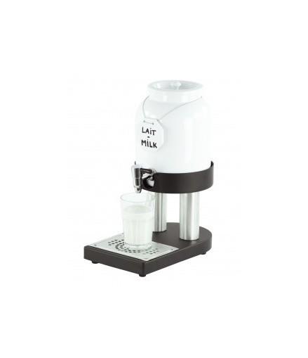 Distributeur de Lait Chaud en Porcelaine - 4 Litres